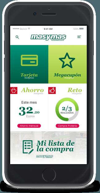 App móvil MasyMas