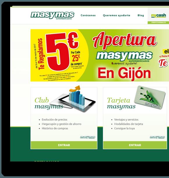 Web masymas supermercados asturianos